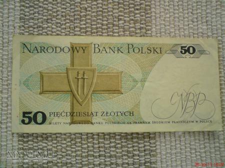 50 złotych 1988 r.