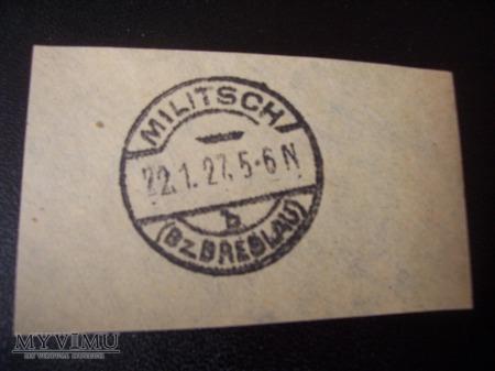 DATOWNIK POCZTOWY 1927 r.