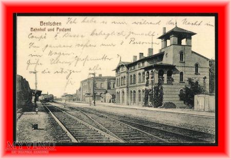 ZBĄSZYN Bentschen Dworzec kolejowy