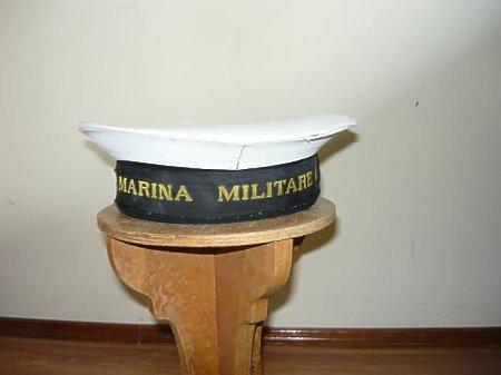 Czapka Włoskiej Marina Militare