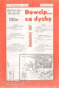 Dowcip...za dychę 10/95