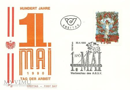100 lat święta 1 Maja - Austria 1992