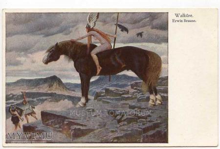 Braune - Walkiria - Akt z koniem