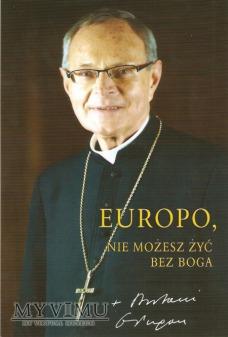Autograf od Bp Antoniego Długosza