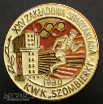 XXV SPARTAKIADA ZAKŁADOWA KWK SZOMBIERKI 1980