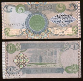 Iraq - P 69 - 1 Dinar - 1980