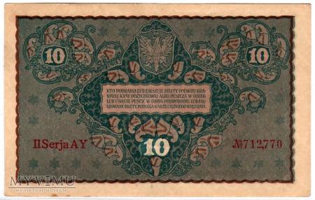 23.08.1919 - 10 Marek Polskich
