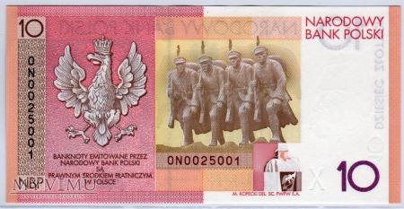 MC KL02 - 10 Złotych - 2008 - KOLEKCJONERSKI
