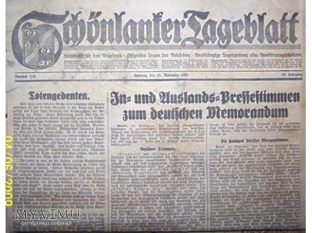 Gazeta z1931 r.