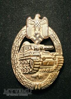 Odznaka pancerna - srebrna.