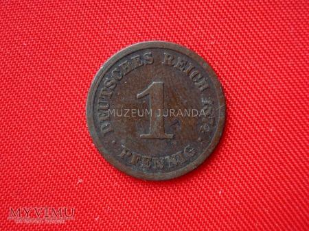 1 pfennig 1874 rok