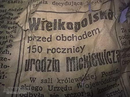 Gazeta z 1948 roku