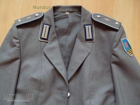 BW - mundur pani ppor. służby medycznej