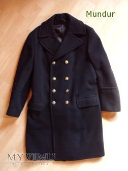 Górniczy płaszcz zimowy sukienny