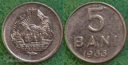 Rumunia, 5 Bani 1966