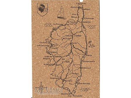 Kartka pocztowa z korka