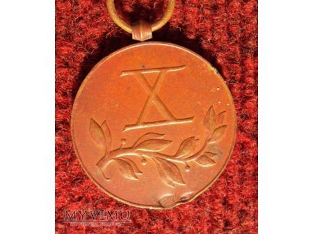 Medal za Długoletnią Służbę - brązowy X
