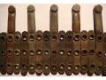 Elementy taśmy amunicyjnej ckm-u Maxim MG08