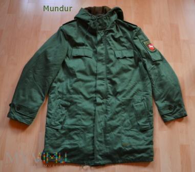 Polizei - zielona kurtka zimowa Parka