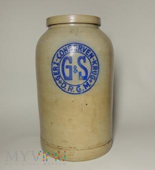 Słoik ceramiczny 3 litrowy