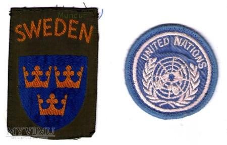 Szwedzkie oznaki ONZ