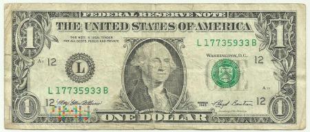 USA 1 Dollar 1993 / 2001