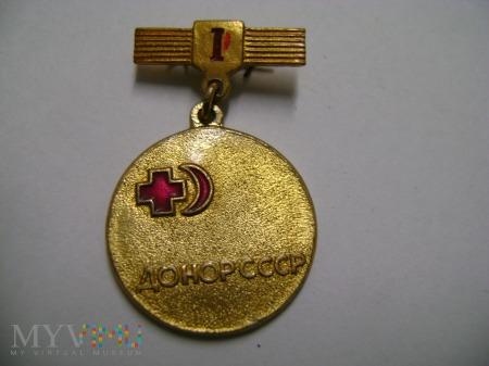 odznaka radziecka I klasy