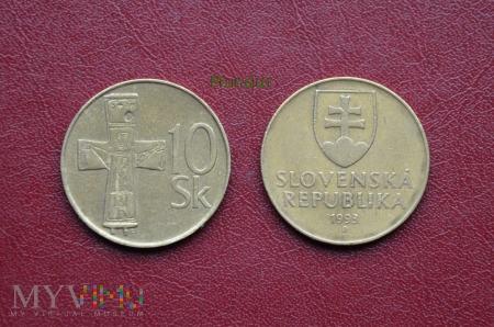 Moneta słowacka: 10 Sk