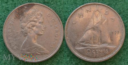 Kanada, 10 CENTS 1973