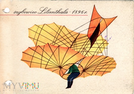 szybowiec Lilienthala 1896