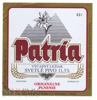 Tatran, Patria