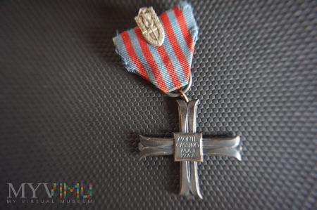 Krzyż Monte Cassino nr:49673 + miniatura 2 Korpusu
