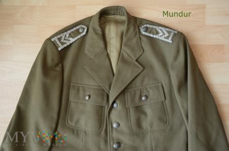 Mundur starszego sierżanta sztabowego z 1966r.