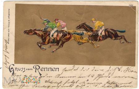 Pozdrowienia z Wyścigu - 1904