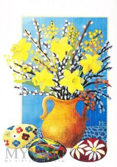 Duże zdjęcie Wielkanocny bukiet