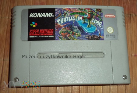 Turtles in Time - gra SNES Nintendo