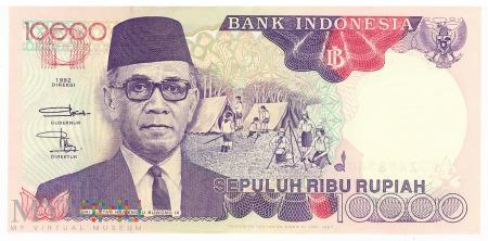 Indonezja - 10 000 rupii (1997)