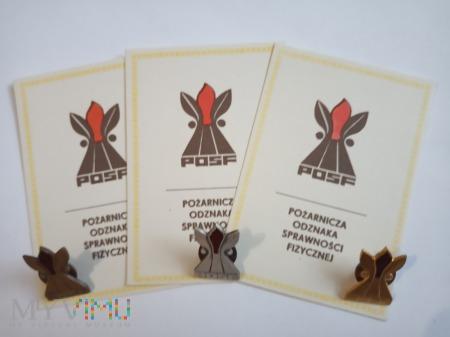 Pożarnicza Odznaka Sprawności Fizycznej