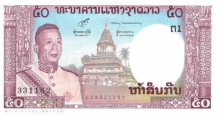 Laos - 50 kipów (1963)
