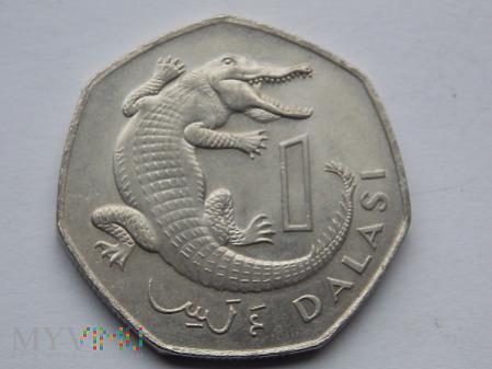 1 DALASI 1987 - GAMBIA