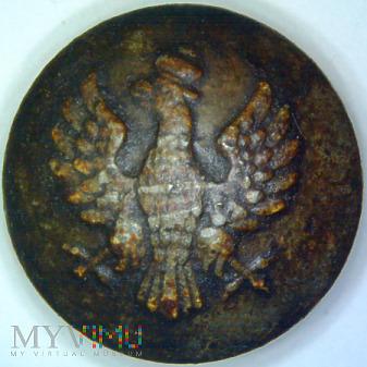 Guzik wojskowy II RP wzór z ok. 1922r