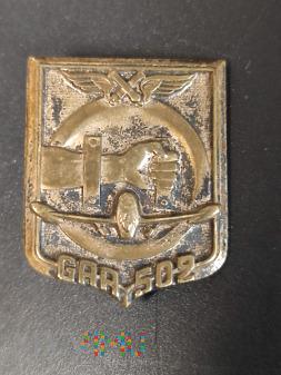 Odznaka 502 Grupy Artylerii Przeciwlotniczej