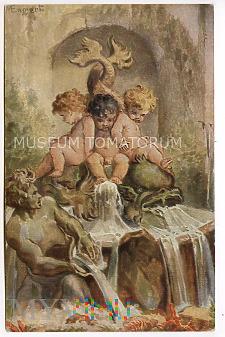 Engert - Bajkowa fontanna - pocz. XX w.