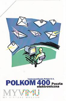 Karta telefoniczna - POLKOM 400