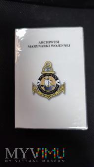 Legitymacja odznaki Archiwum Marynarki Wojennej