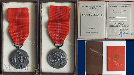 Medal 30-Lecia Polski Ludowej.