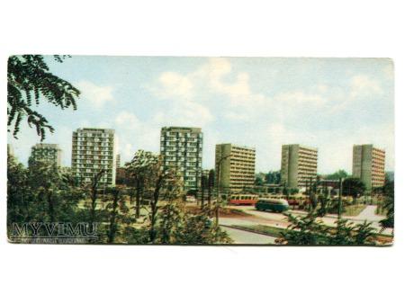 1967 Warszawa Osiedle mieszkaniowe PRAGA III PRL