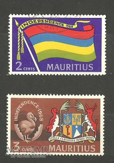 Flaga i herb Mauritiusa
