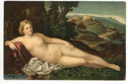 Palma Vecchio - Odpoczywająca Venus