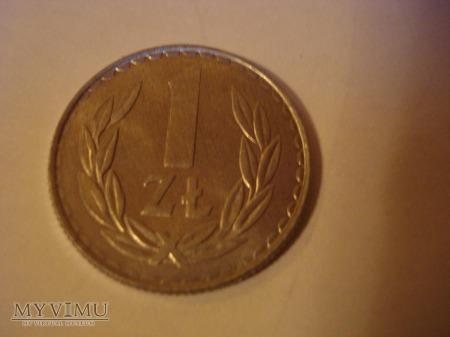 1 ZŁ zbiór 21 monet
